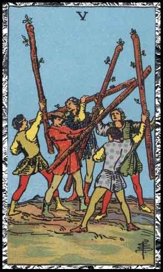 Five wands
