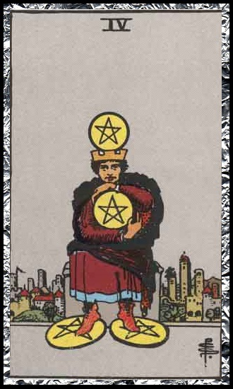 Four Pentacles