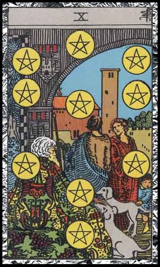 Ten Pentacles